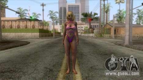 Dead Or Alive - Tamaki Skin v2 for GTA San Andreas