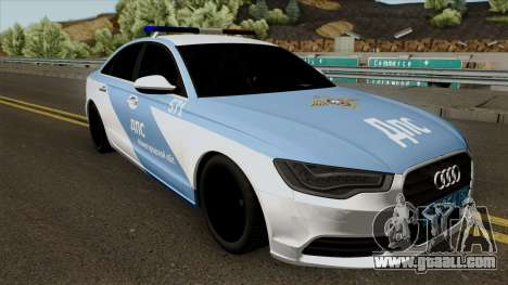 Audi A8 Police for GTA San Andreas