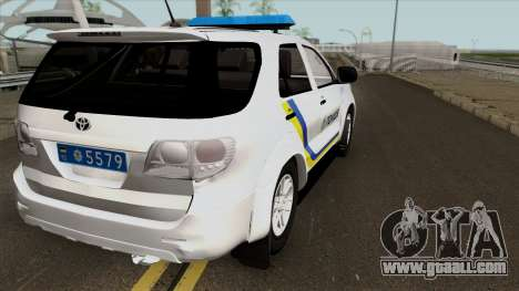 Toyota Fortuner Police Of Ukraine for GTA San Andreas