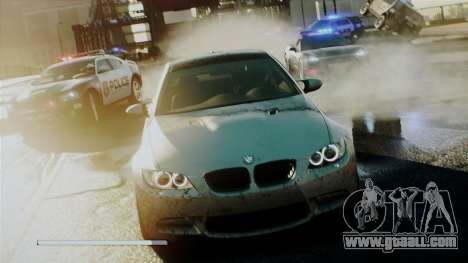 Need For Speed Most Wanted 2012 Loadscreen for GTA San Andreas
