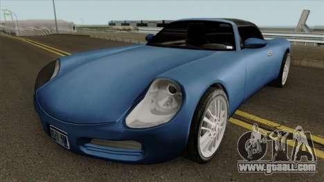 Stinger HD for GTA San Andreas