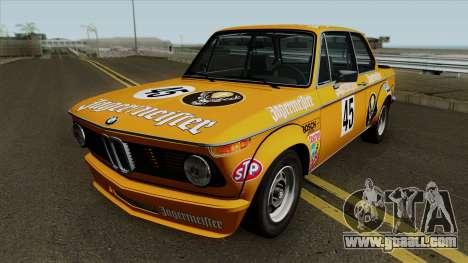 Bmw 2002 Turbo E10 1973 For Gta San Andreas