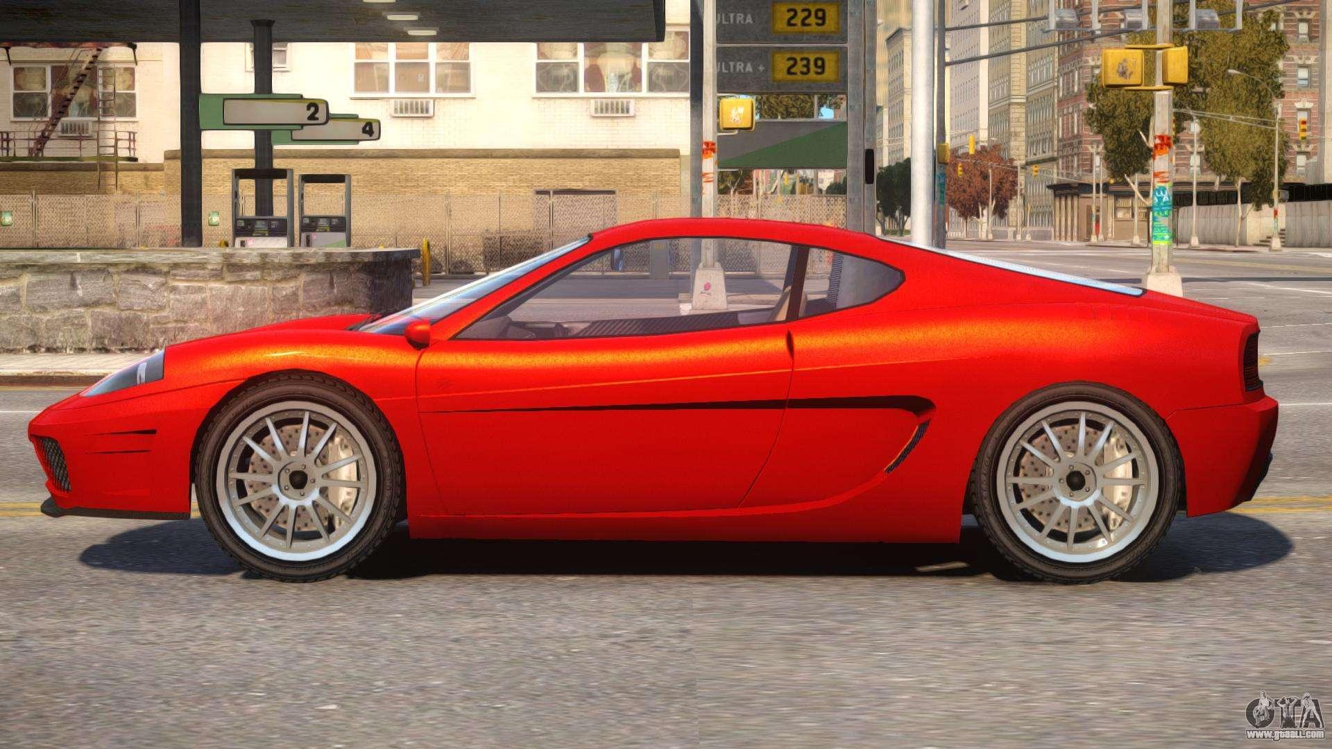 Turismo to Ferrari f430 for GTA 4