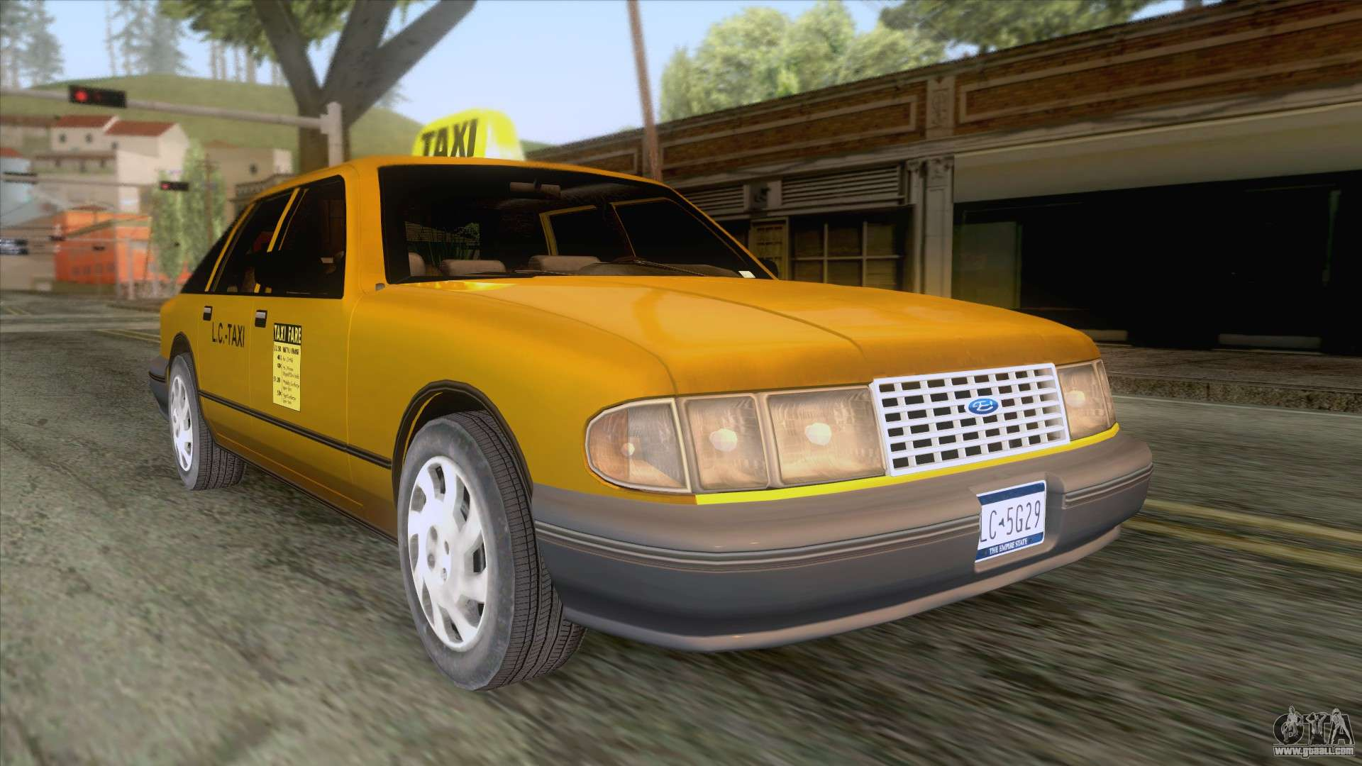 New Taxi HD for GTA San Andreas