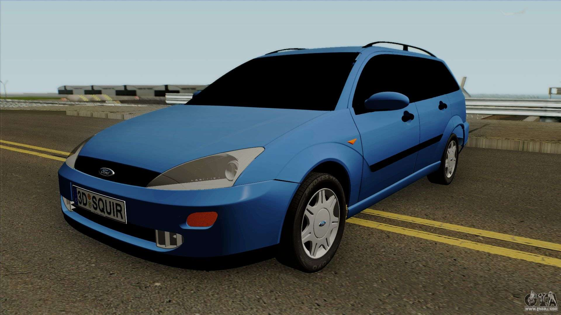ford focus 1 wagon for gta san andreas. Black Bedroom Furniture Sets. Home Design Ideas