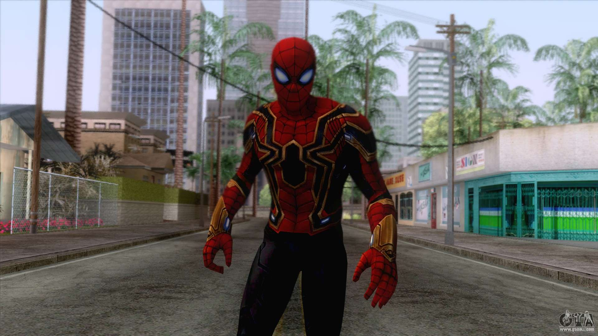 Iron Man No Mask V2 (Marvel Ultimate Alliance 3) for GTA