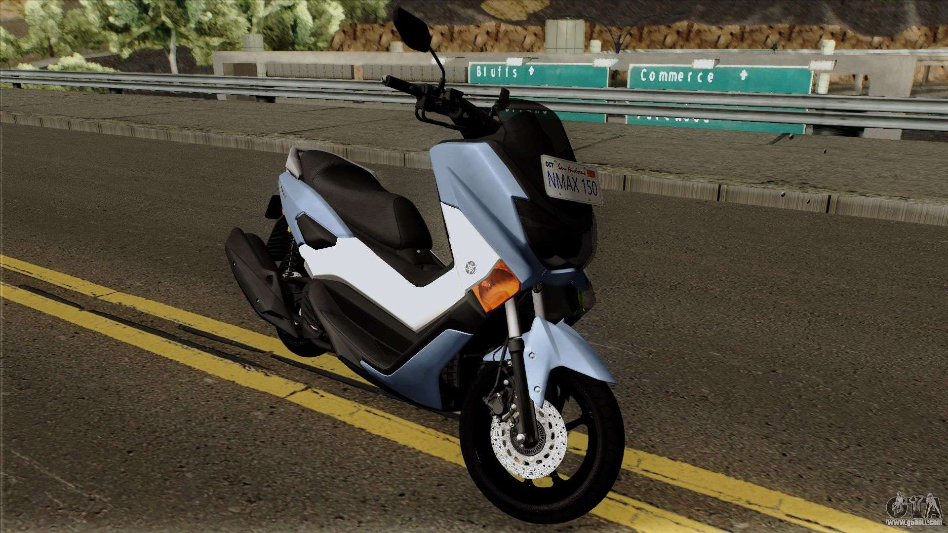 Yamaha NMax 2018 for GTA San Andreas