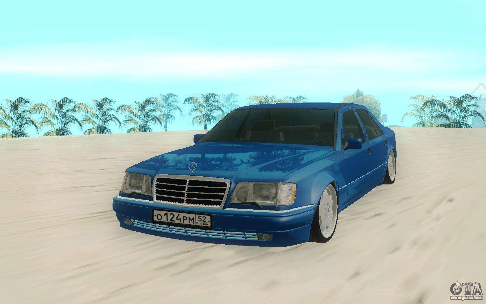 Mercedes benz e500 stock for gta san andreas for Mercedes benz stock