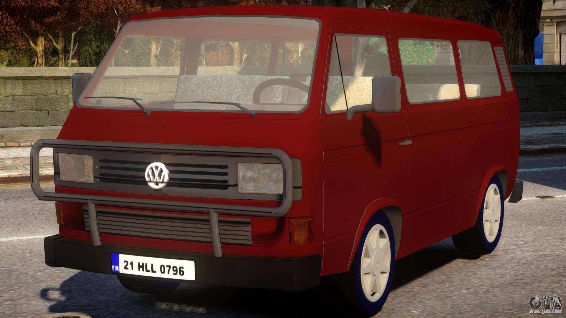 volkswagen transporter t3 for gta 4. Black Bedroom Furniture Sets. Home Design Ideas