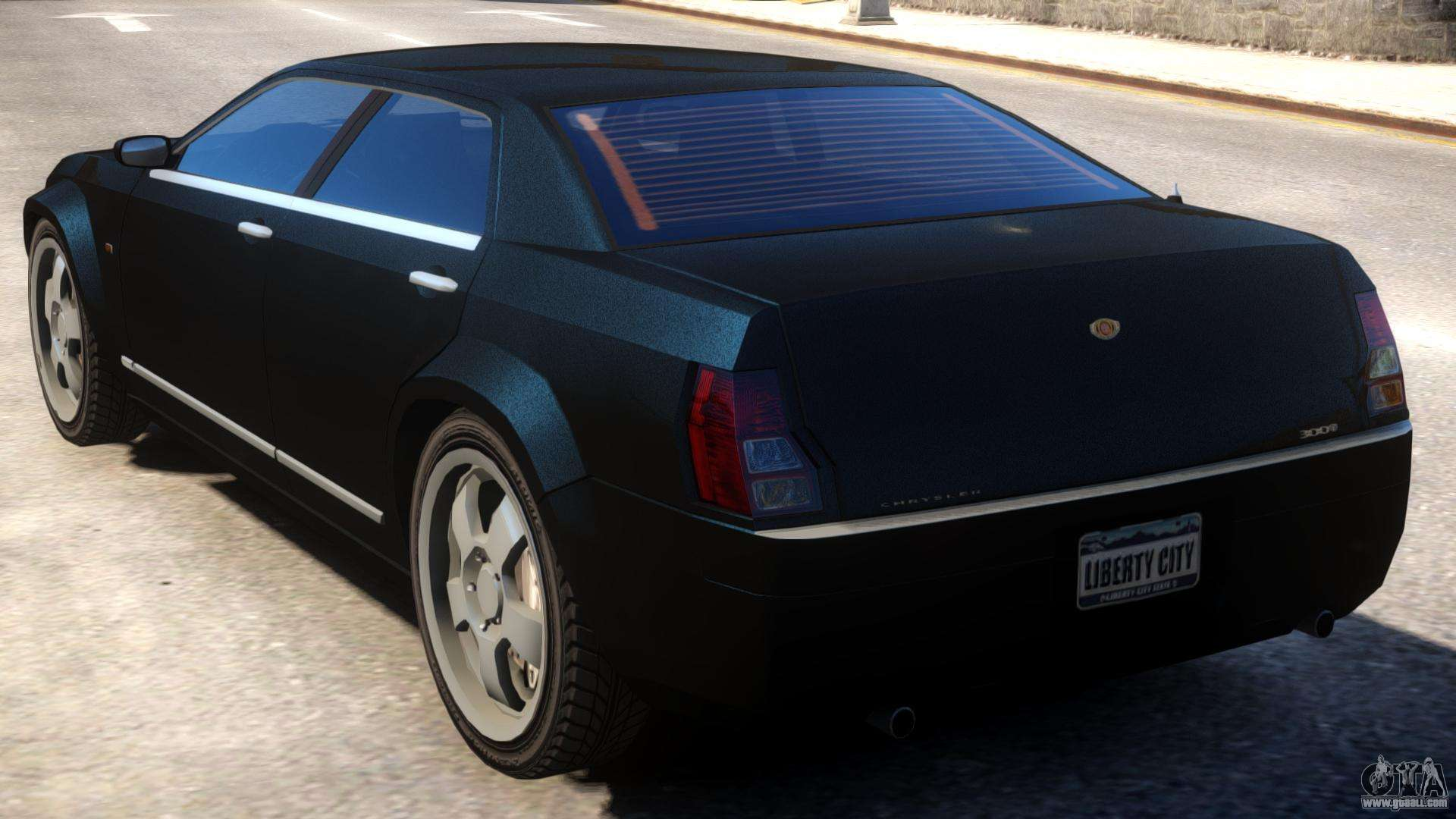 pmp 600 to chrysler 300c hemi for gta 4. Black Bedroom Furniture Sets. Home Design Ideas