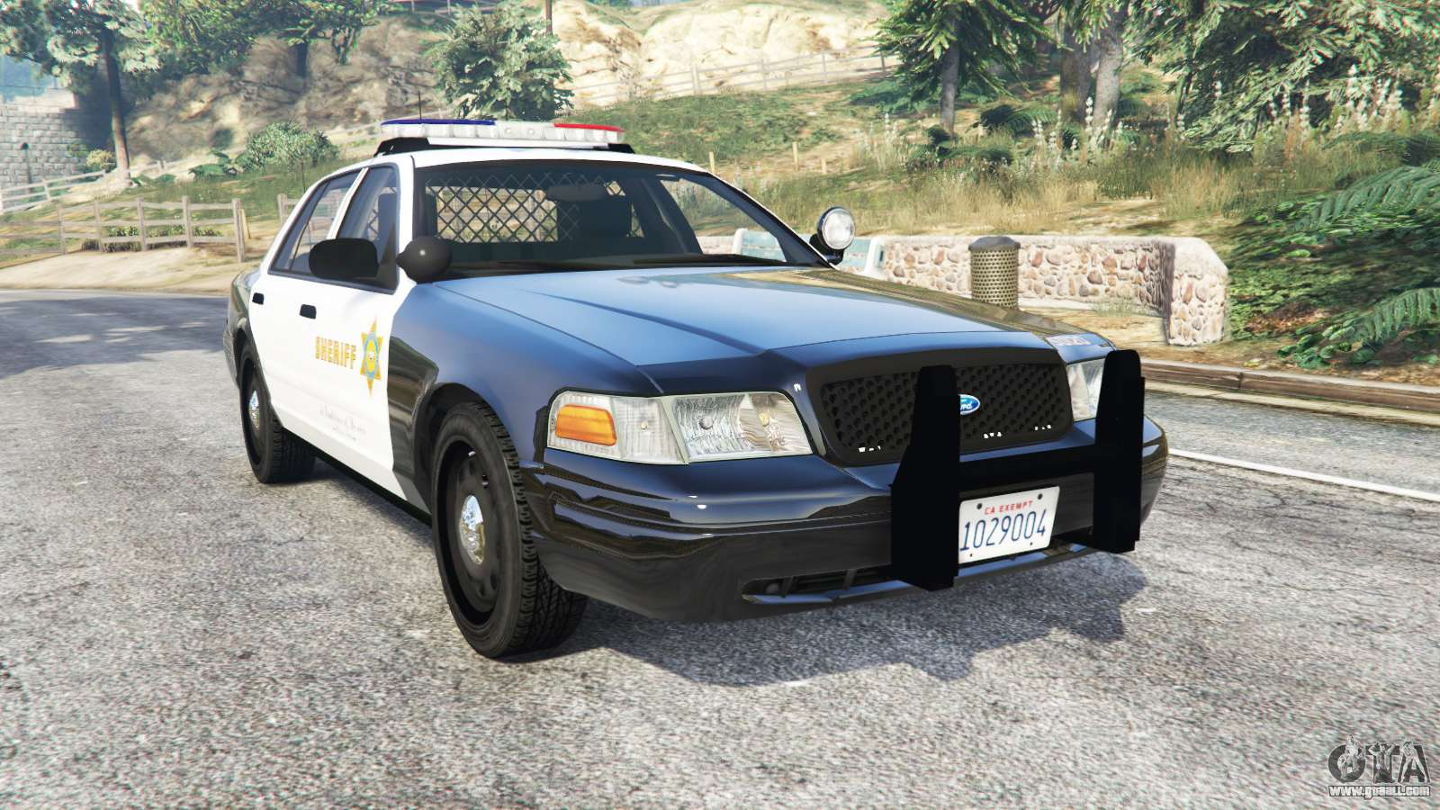ford crown victoria sheriff cvpi replace for gta 5. Black Bedroom Furniture Sets. Home Design Ideas