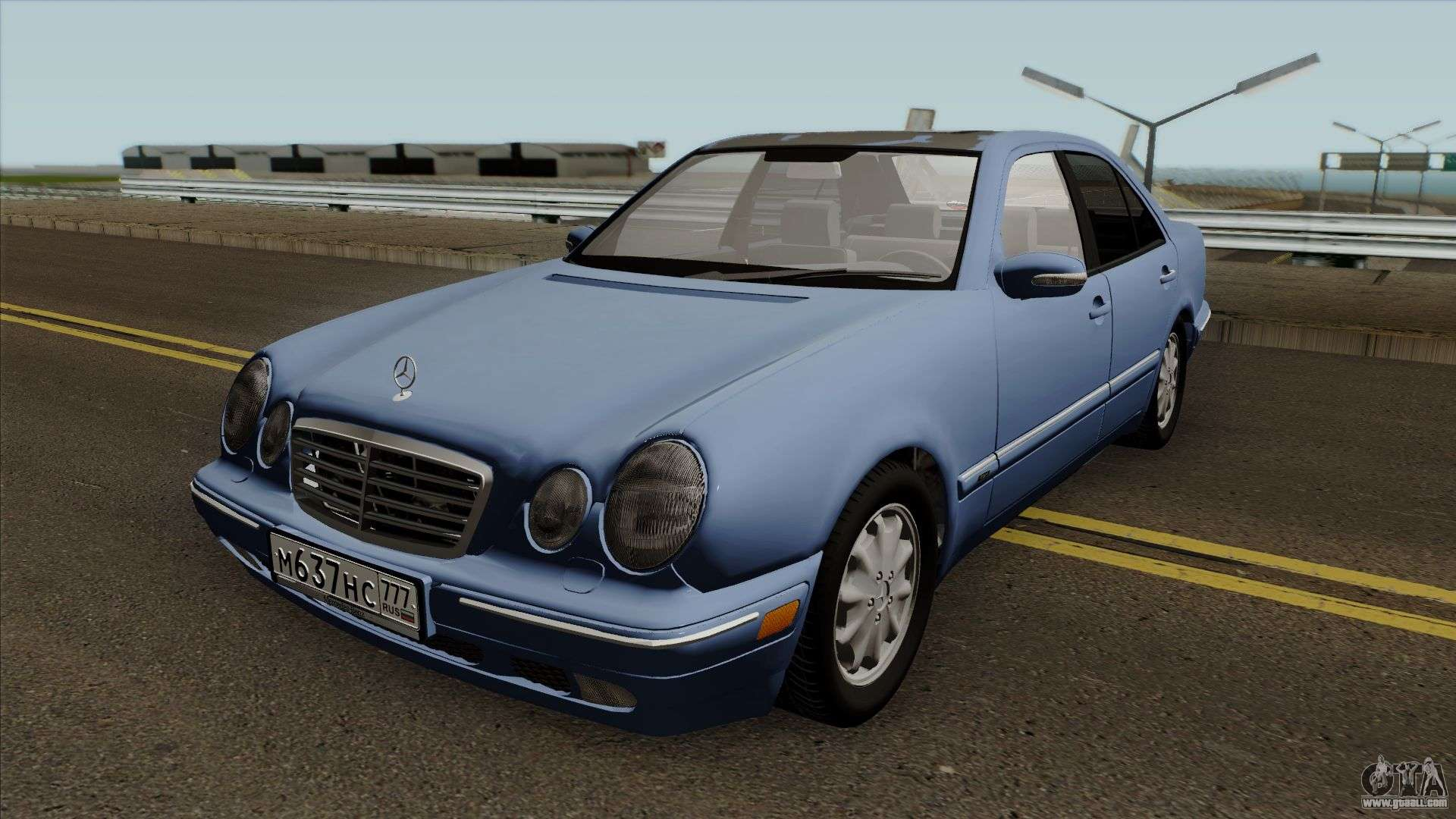 mercedes benz e klasse w210 e420 avantgarde 1999 for gta san andreas. Black Bedroom Furniture Sets. Home Design Ideas