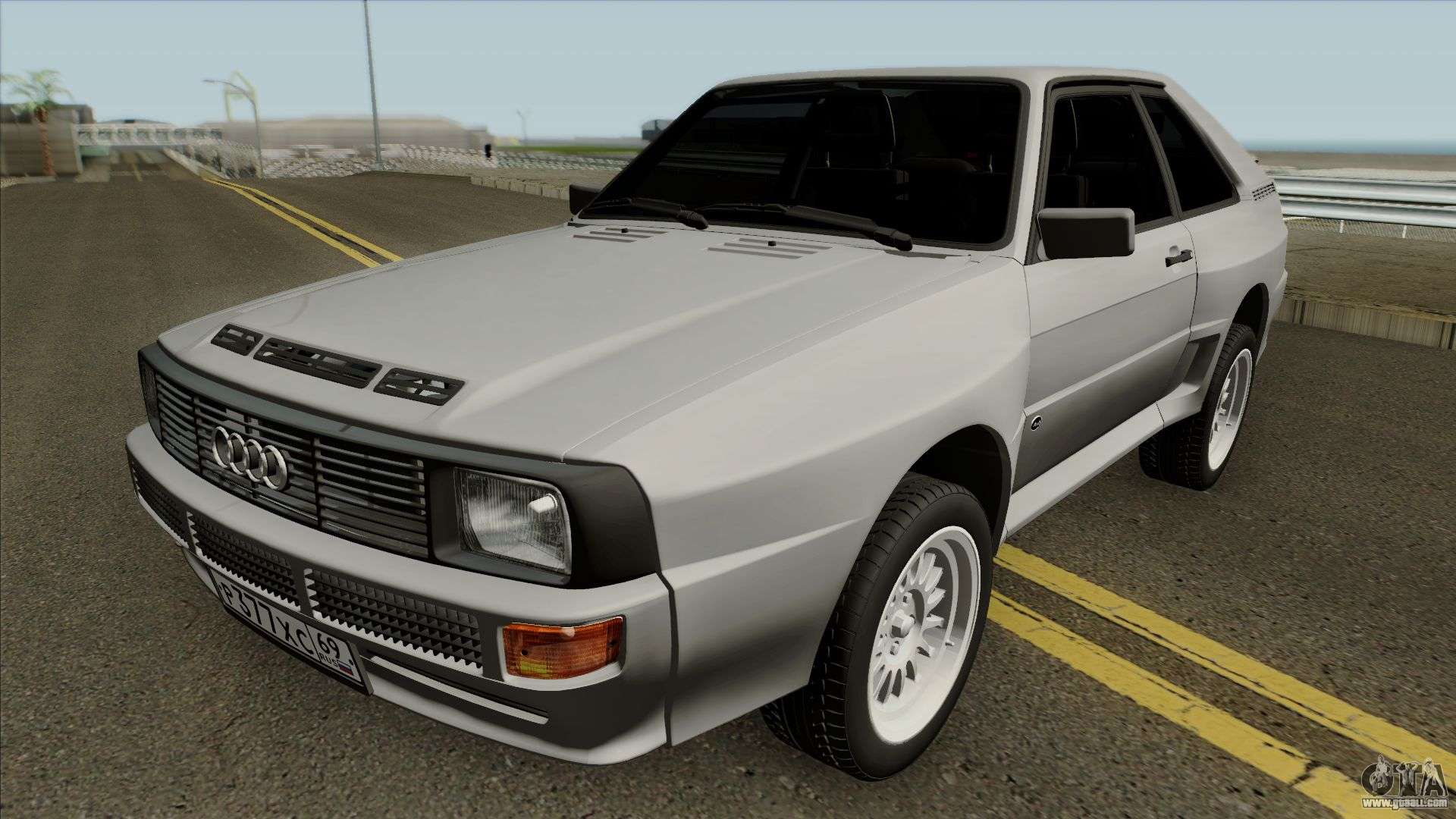 audi sport quattro 1983 for gta san andreas. Black Bedroom Furniture Sets. Home Design Ideas