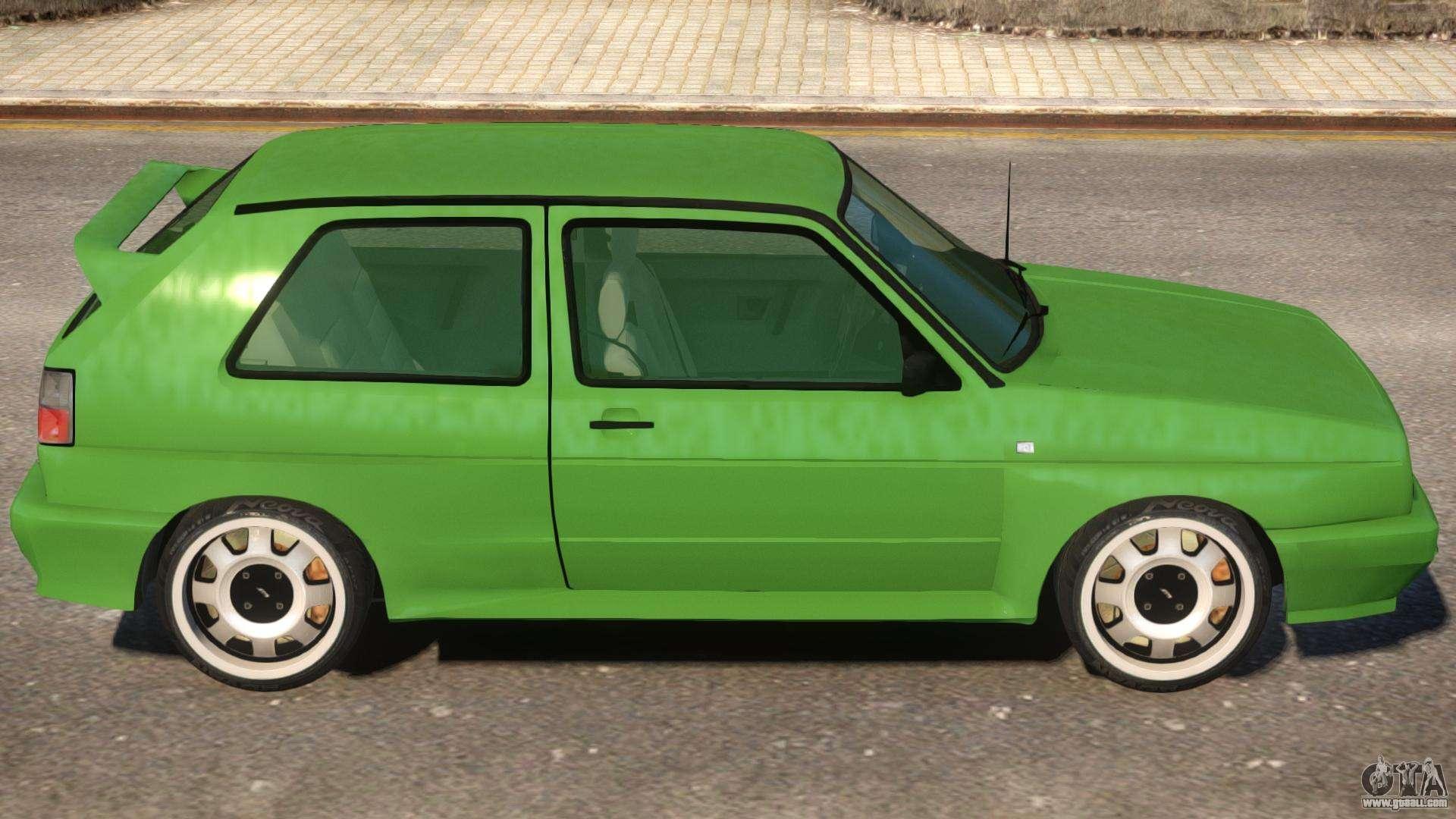 volkswagen golf rallye g60 1990 for gta 4. Black Bedroom Furniture Sets. Home Design Ideas