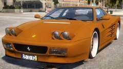 Gold Ferrari 512 for GTA 4