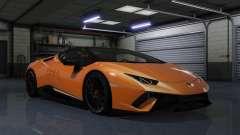 Lamborghini Huracan Performante Spyder 1.1 for GTA 5