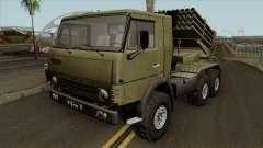 KamAZ-5410 BM-21 Grad for GTA San Andreas