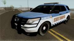 Ford Explorer 2016 Red County Police for GTA San Andreas