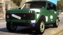 Lada Niva 4x4 for GTA 4