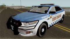Ford Taurus 2013 Red County Police