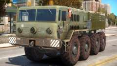 Military Russia Army MAZ 535 for GTA 4