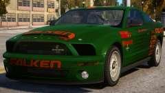 Ford Mustang Falken for GTA 4