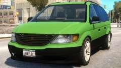 Minivan to Dodge Grand Caravan for GTA 4