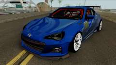 Subaru BRZ LM Race Car for GTA San Andreas