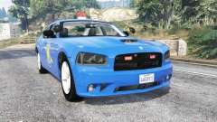 Dodge Charger Michigan State Police [replace] for GTA 5