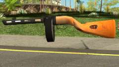 PPSH-41 LowPoly for GTA San Andreas