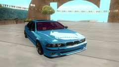 BMW M5 E39 azure for GTA San Andreas