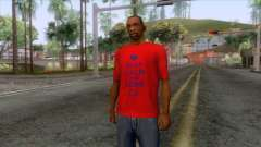 Keep Calm and Love CJ T-Shirt for GTA San Andreas