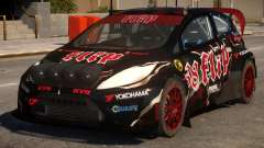 Ford Fiesta Rallycross (DiRT3) V.1 for GTA 4