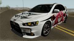 Mitsubishi Lancer Evolution X Date A Live for GTA San Andreas