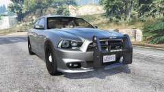 Dodge Charger SRT8 (LD) Police v1.2 [replace] for GTA 5
