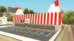 Ocean Flats KFC Restaurant for GTA San Andreas