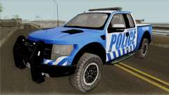 Ford F-150 Raptor 2016 Red County Police