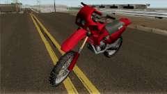 Aprilia Tuareg 125 for GTA San Andreas