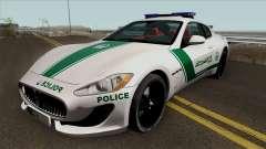 Maserati Gran Turismo Dubai Police 2013