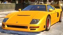 Grotti Turismo Classic Revision F40 Rims for GTA 4