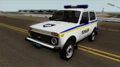 VAZ 2121 Police of Ukraine for GTA San Andreas