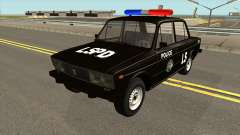 VAZ 2106 SA Style Police for GTA San Andreas