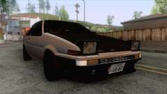 Toyota AE86 Coupe Touge Style for GTA San Andreas