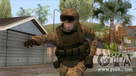 German Army Soldier Skin for GTA San Andreas