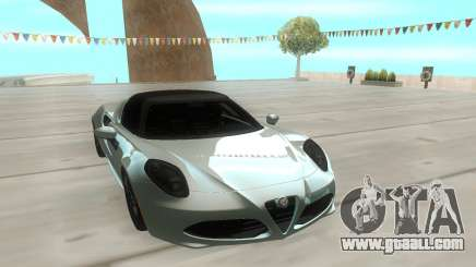 Alfa Romeo 4C 15 for GTA San Andreas