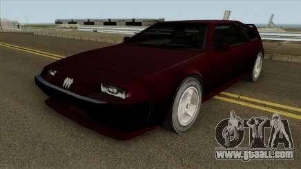 Deluxo HD for GTA San Andreas