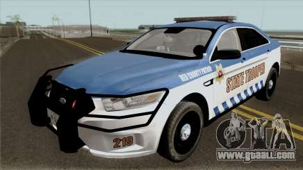 Ford Taurus 2013 Red County Police for GTA San Andreas