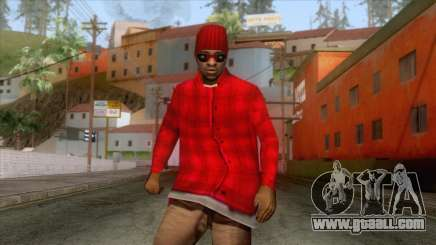 Crips & Bloods Ballas Skin 5 for GTA San Andreas