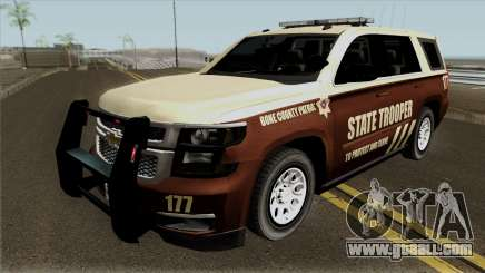 Chevrolet Tahoe 2015 Bone County Police for GTA San Andreas