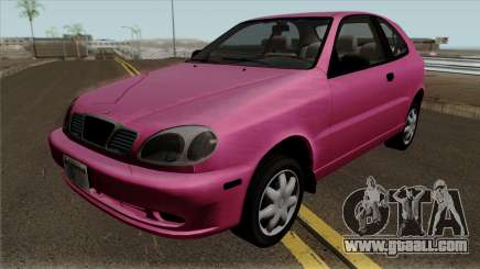 Daewoo Lanos Hatchback 1.6 16V 2001 (US-Spec) for GTA San Andreas